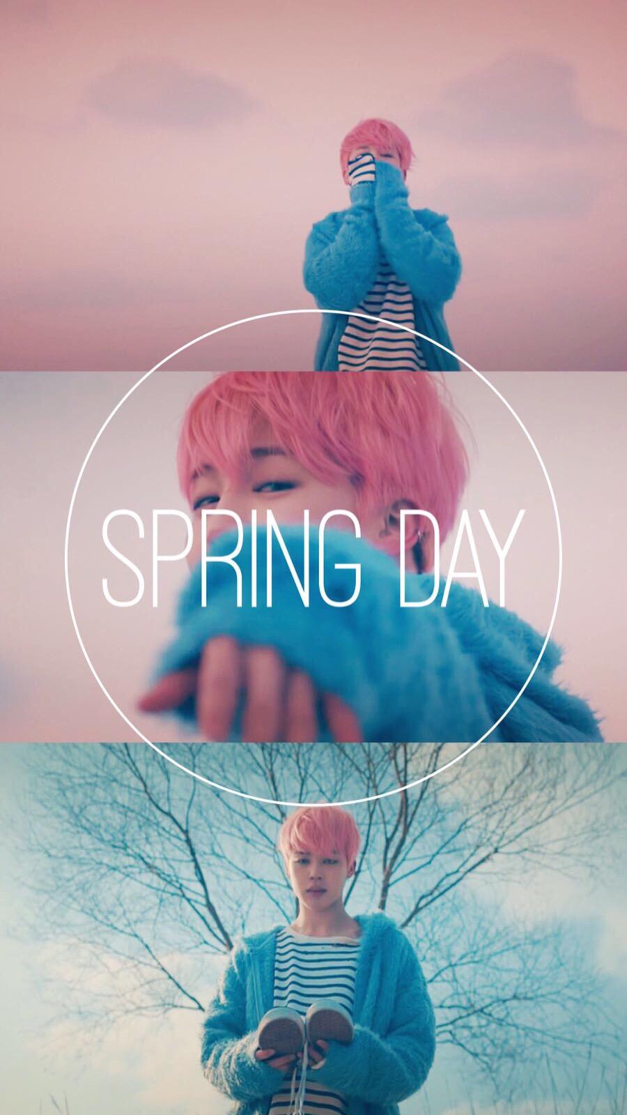 Spring Day Jimin Bts Jimin Springdaybts Wallpaper Btswa