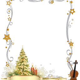christmas openindraw transparentbackground music violin freetoedit