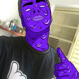 grimeart grimeedit grimeartselfie purple like