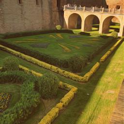 gardens oilpainteffect