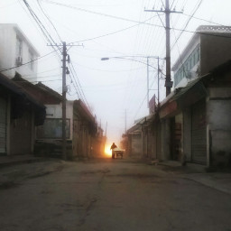 morning street freetoedit