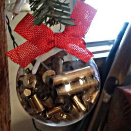 bulletcasings ornament