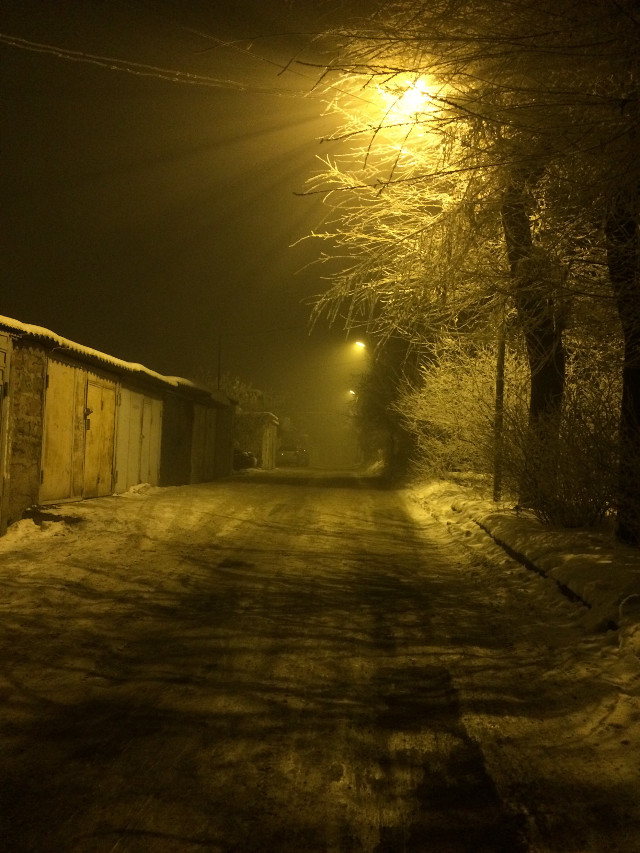 #FreeToEdit #night #walk #light