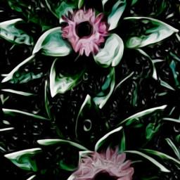 freetoedit oilpaintingeffect watercolorstickers greenery richcolor