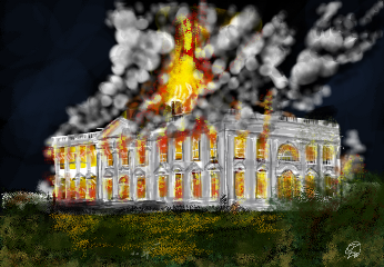 wdpthewhitehouse 1812 war vintage history