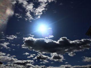 outside outdoor sun star bluesky