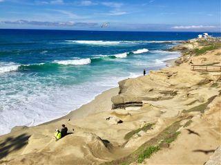 beach california lajolla sandiego