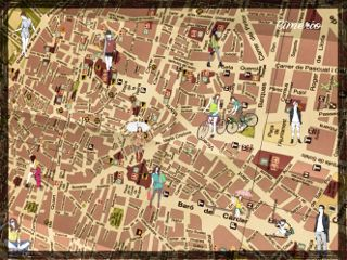 urban maps valencia spain urbanlife