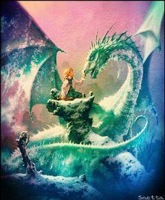 freetoedit dragon courage ice icedragon
