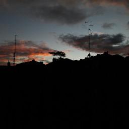 madrid spain backlight sunset myphotography