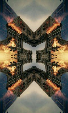 abstract editstepbystep layers weird strange