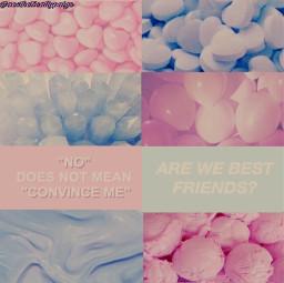 aesthetic pink blue pinkandblue cottoncandy