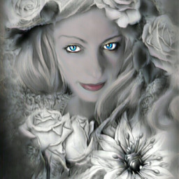 autoretrato flower emocions fantasy mezclas