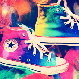 freetoedit shoes shoesoftheday shoefie rainbow