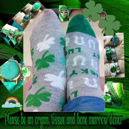 freetoedit stpatricksday dialysissocks dialysisjewelry