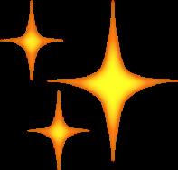 emoji estrellas amarillo freetoedit