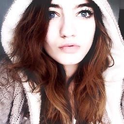 inverno freddo cold blue girl