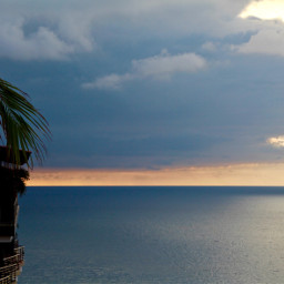 freetoedit sunset sunsetphotography ocean puertovallarta